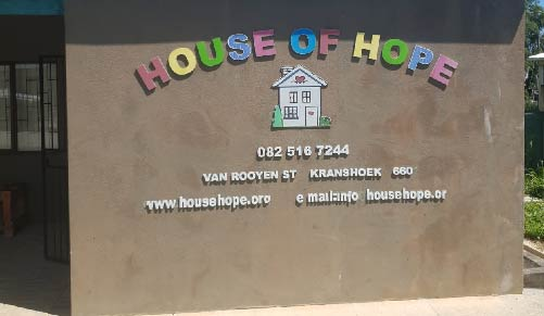 House of hope plettenberg bay charity